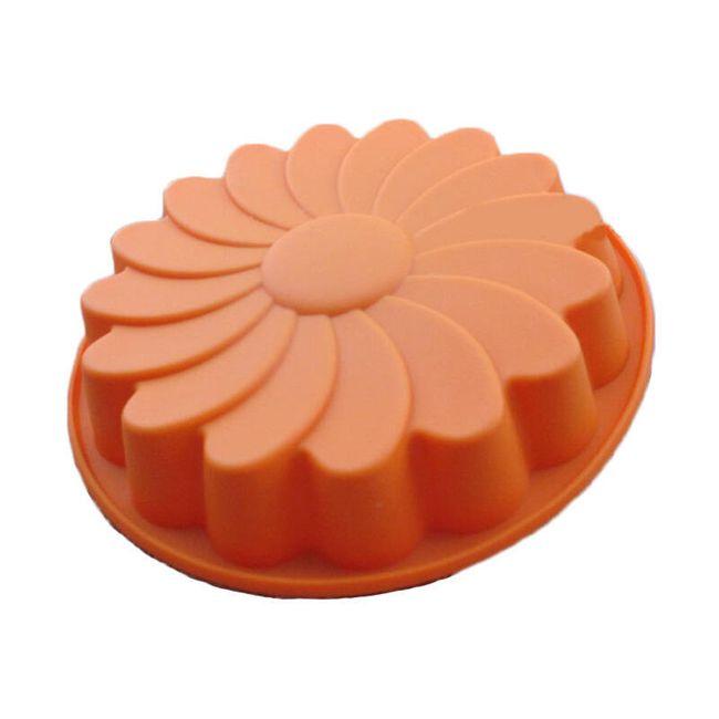 Napraforgó alakú tortaforma 1