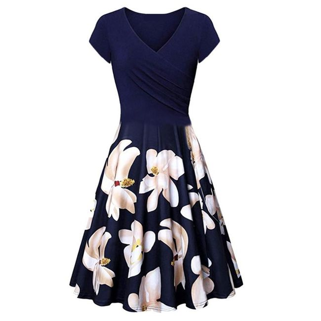 Damska sukienka z krótkim rękawem Malia 1