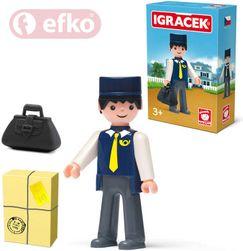 IGRÁČEK Pošťák s doplňky v krabičce STAVEBNICE SR_125491