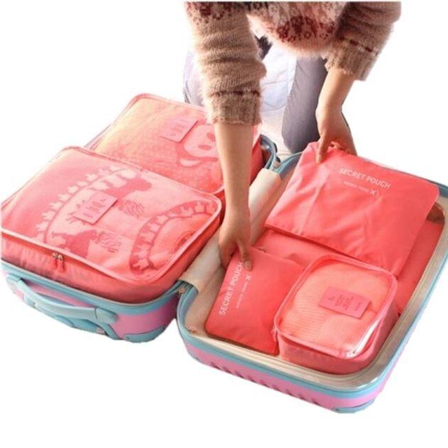 Sada do kufru nepromokavá - 6 ks 1
