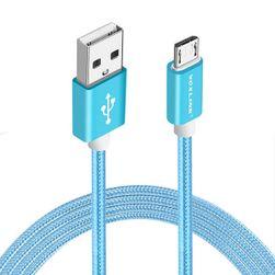 Cablu de încărcare și sincronizare pentru iPhone cu motiv tricotat