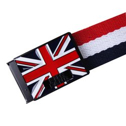 Muški kaiš u stilu britanske zastave