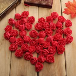 50 komada dekoraivnih ruža - 10 boja