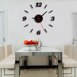 Akrylowy 3D naklejany zegar