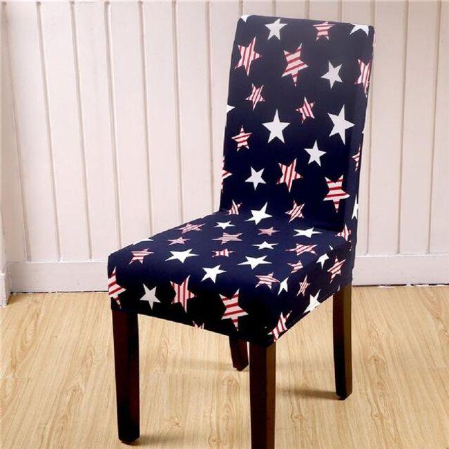 Elastický potah na židli 1