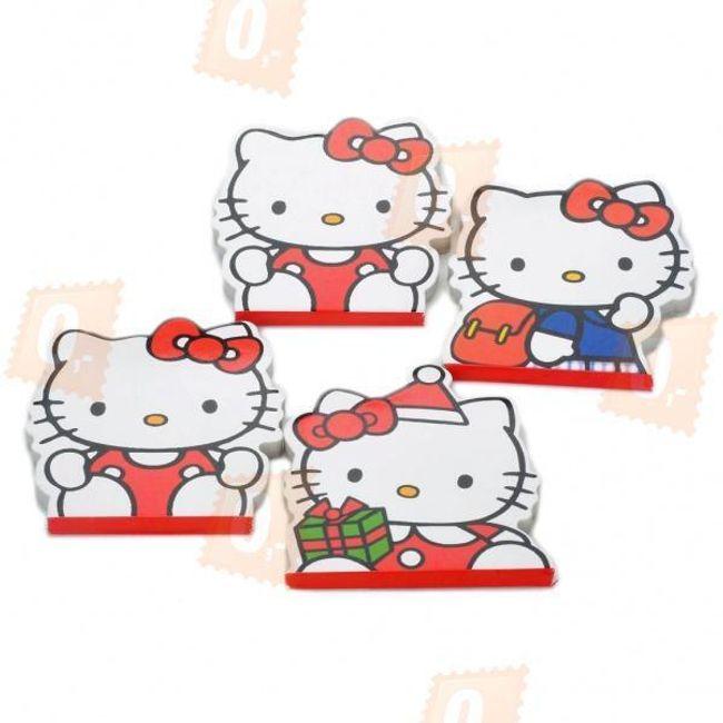 Sada kouzelných bloků s motivem Hello Kitty - 4 kusy 1