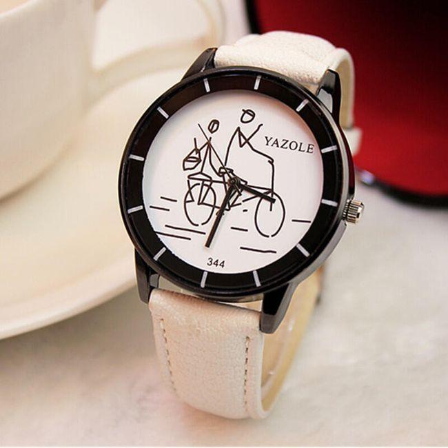 Náramkové hodinky s obrázkem v ciferníku 1