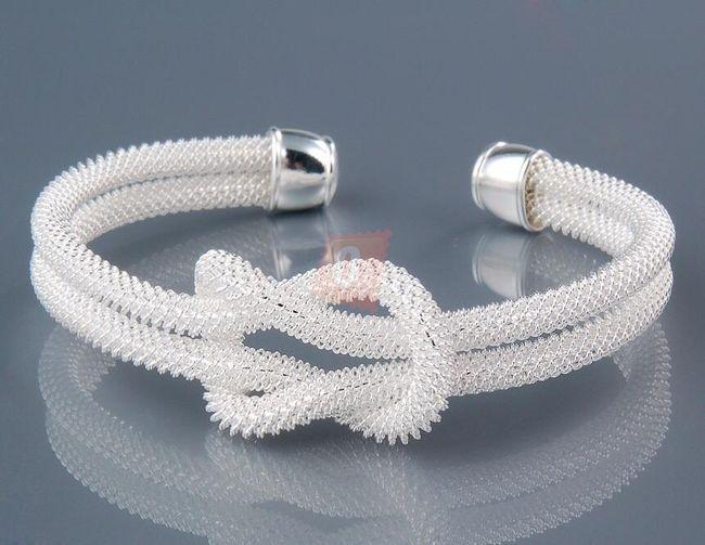 Elegancka bransoletka s węzłem marynarskim 1