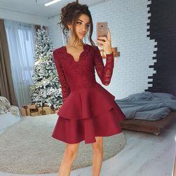 Женское платье с длинными рукавами DS45