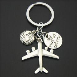 Obesek za ključe z motivom potovanja - 5 različic
