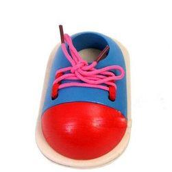 Oktatási játék - cipőfűző