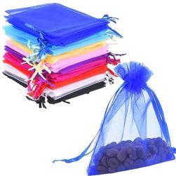 Комплект цветни пликове от органза