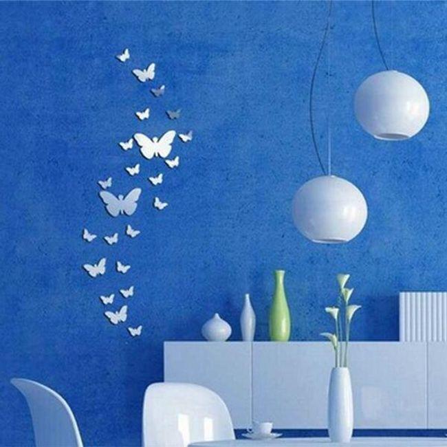 Tükör dekoráció pillangó formában 1