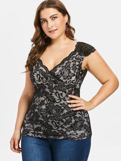 Дамска тениска с къси ръкави Lilith 1