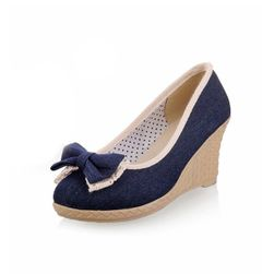Dámské boty na klínu Raila