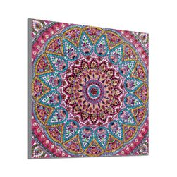 DIY obraz z kamínků Mandala
