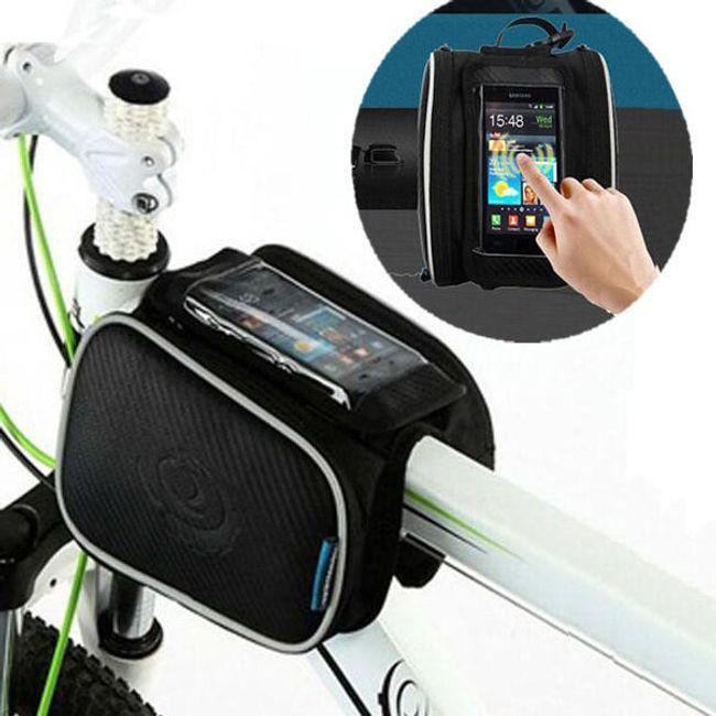 Велосумка на раму велосипеда под смартфон 1