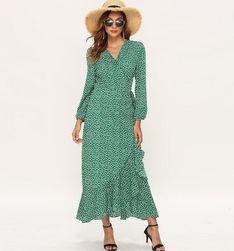 Ženska haljina sa dugim rukavima EA_624381515764