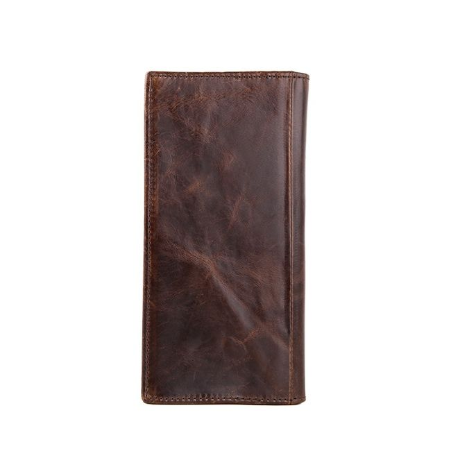 Férfi pénztárca hosszú PU bőrből