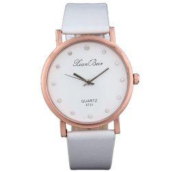 Dámské hodinky LW62 Bílá