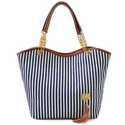 Женская сумочка с полосками