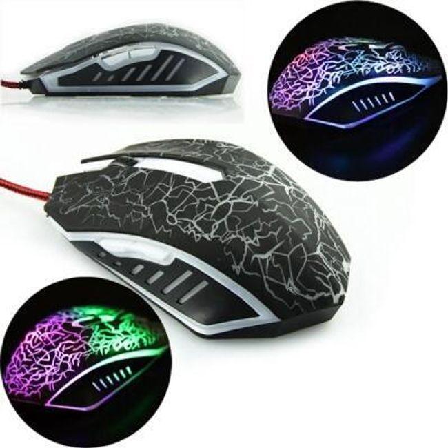 Gamerski optički miš sa LED osvetljenjem 1