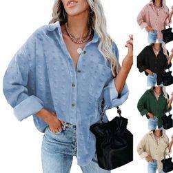 Женская рубашка с длинным рукавом EA_655180546668