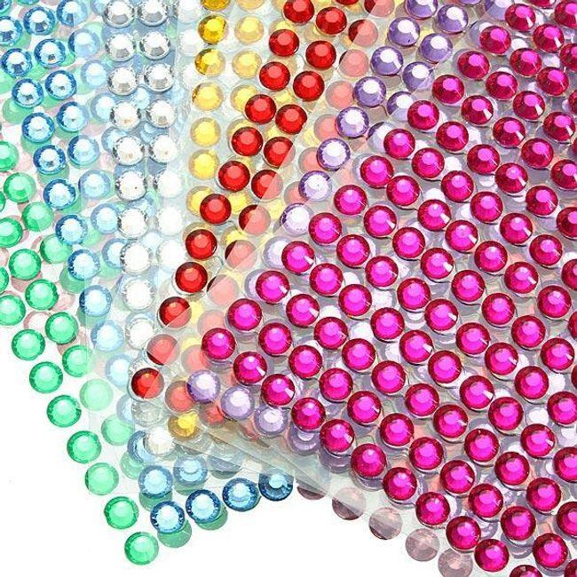 Csillogó ragasztókövek nem csak autókhoz - 8 szín 1