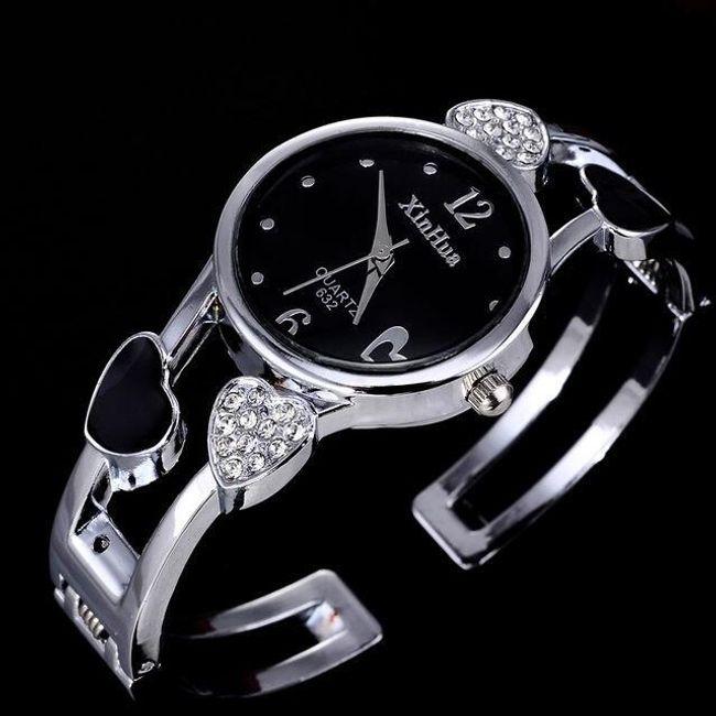 Náramkové hodinky se srdíčky - 4 varianty 1