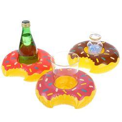 Набор надувных держателей для напитков Donuts