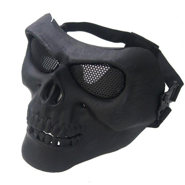 Taktická obličejová maska na outdoorové hry v podobě lebky 1