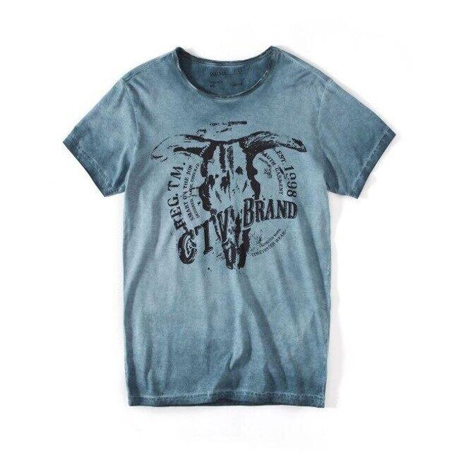 Męska koszulka z krótkim rękawem Jacob 1