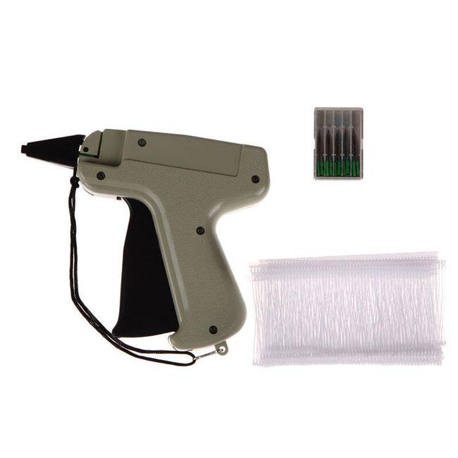 Pistole na přišívání cedulek k oblečení - sada 1