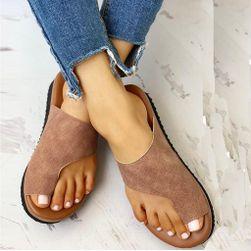 Pantofle na vbočený palec Pecia