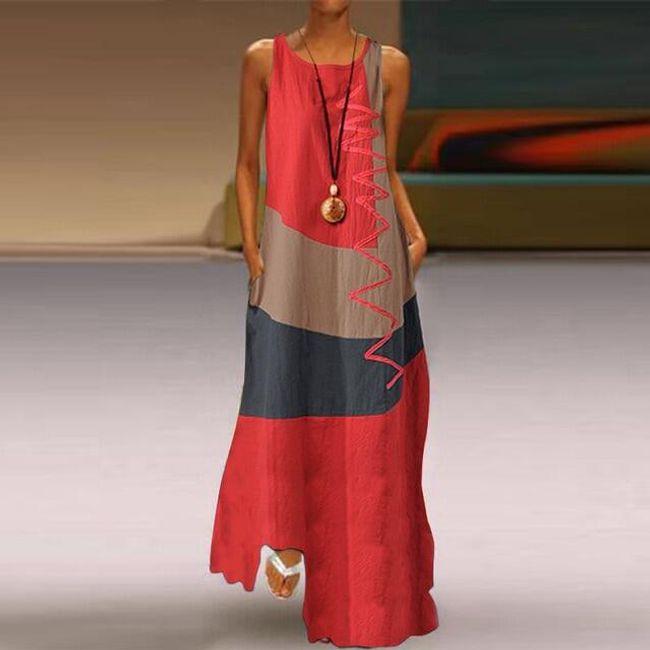 Dámské maxi šaty Matia 1