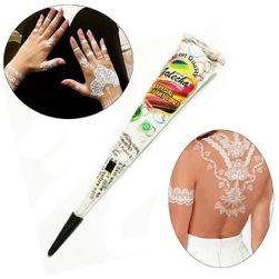 Pastă naturală de henna pentru tatuaje orientale