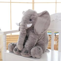 Плюшевый слон- 60 см.