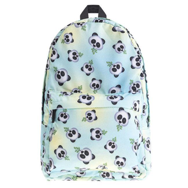 Školní batoh s pandami 1