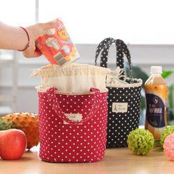 Śliczna torba termoizolacyjna na obiad - różne kolory