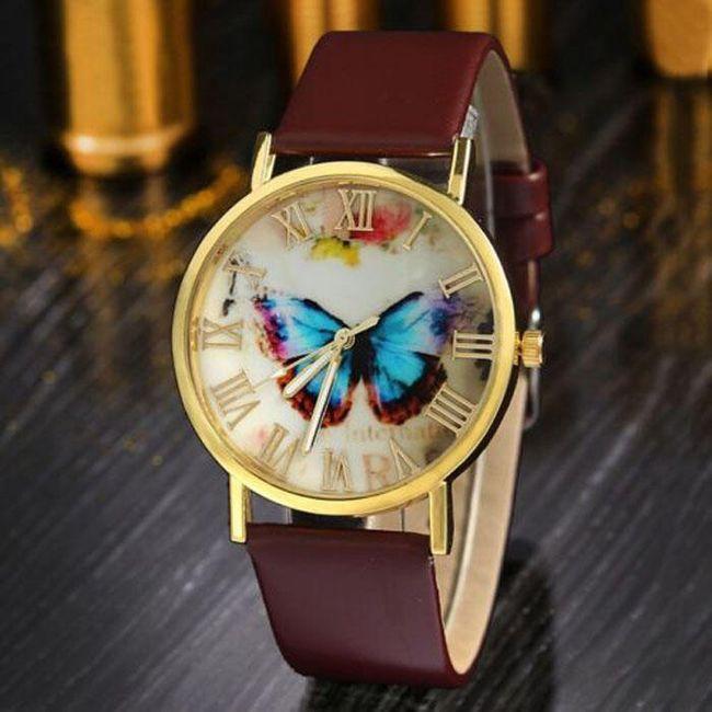 Dámské hodinky - motýl 1