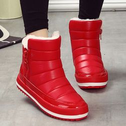 Dámské zimní boty na zip - 3 barvy