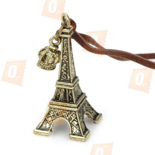 Náhrdelník s přívěskem ve tvaru Eiffelovky 1