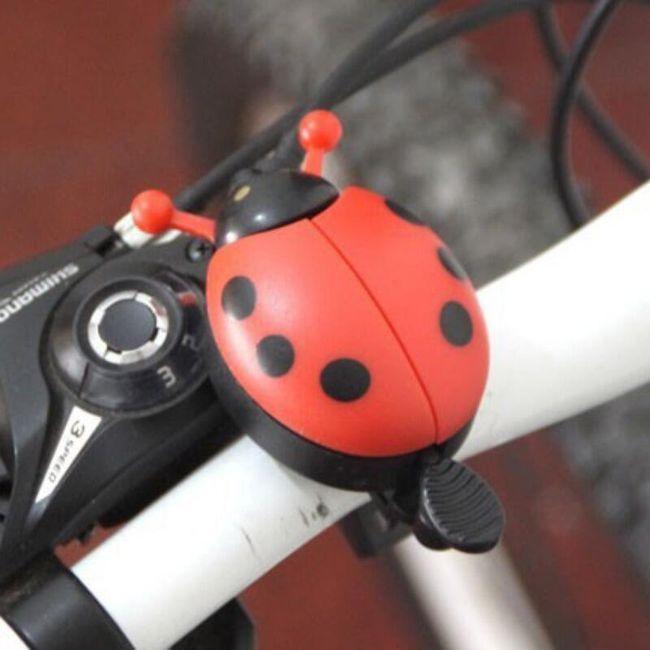 Dzwonek rowerowy w postaci biedronki - 4 kolory 1