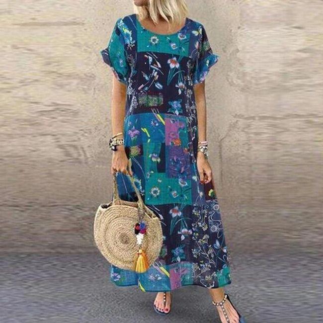Damskie sukienki maxi Ilone 1