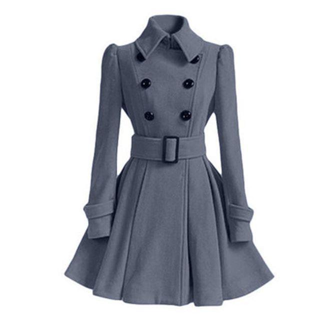 Elegantní zimní kabát - 5 - velikost č. L 1