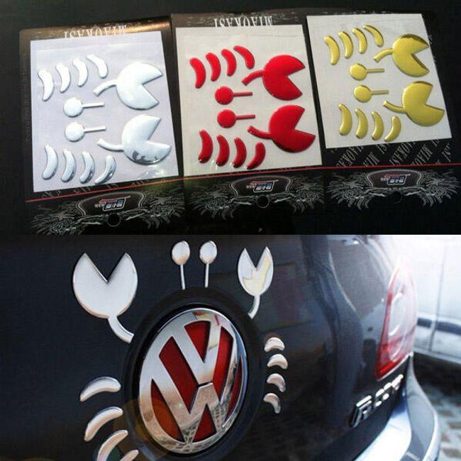 Dekorativna nalepnica za logo automobila 1