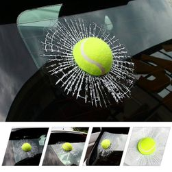 Araba 3D tenis topu sticker