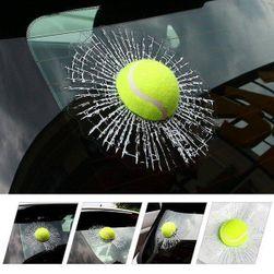 3D nalepnica za auto u obliku loptice za tenis