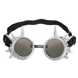 Stylové steampunk nastavitelné brýle - ochrana UV 400
