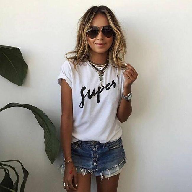 Женская футболка с короткими рукавами Anittie 1